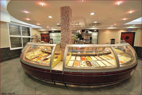 plan, negocio, heladería