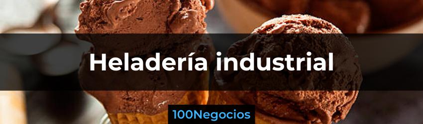 negocio de helados industriales